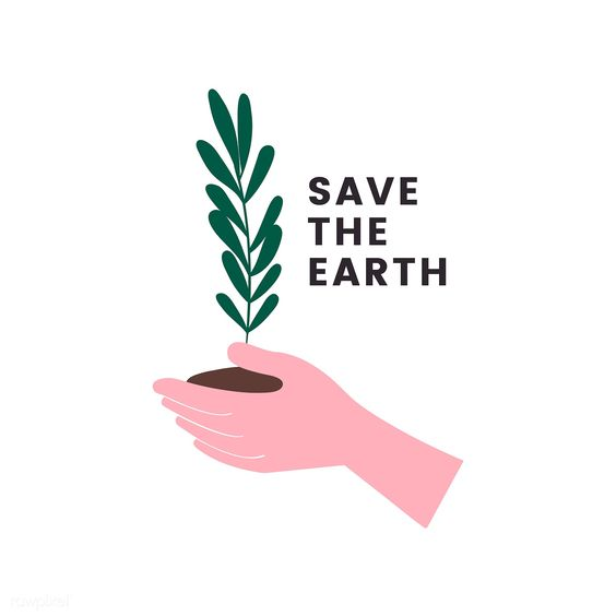 Save the earth and go green icon   free image by rawpixel.com / Peera
