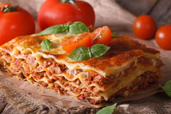 Lasagne #lasagna #meat #italy #recipe #yummy #original #lidlösterreich #basil #tomato #loveit #bechamel #sogood #hearty #food #love #yummy