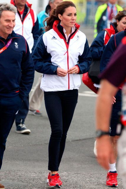 Kate at the Olympics