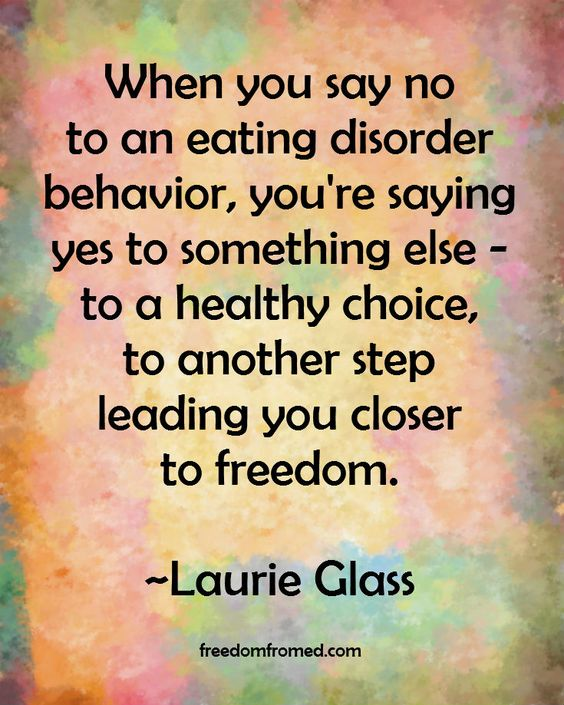 For faith-based support for your recovery, get Laurie's free newsletter. http://freedomfromed.com/eating-disorder-recovery-newsletter/: