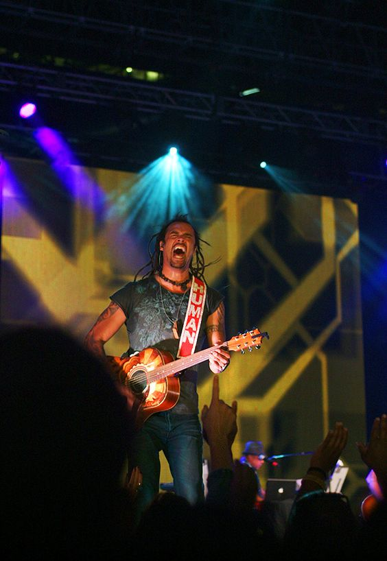 God it was fun photographing Michael Franti at Luminato for my project, never knew what he would do next ;) June 14 - Tweeted by @mixedbagmag