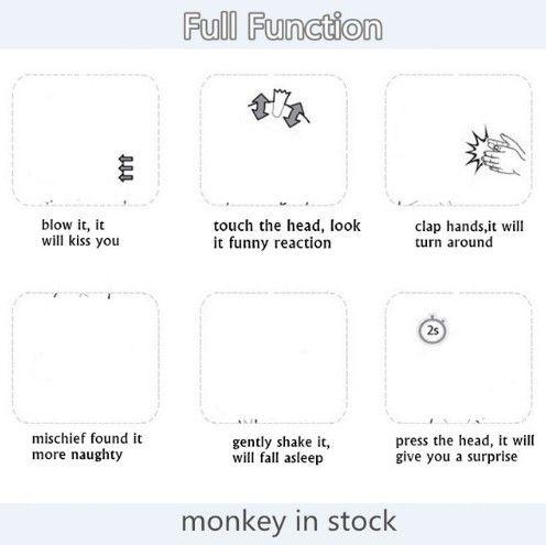 Kaufen Gute Qualitat Voller Funktionen Finger Affe Interaktive