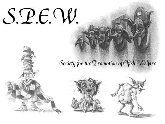 Image from http://images2.fanpop.com/images/photos/7600000/S-P-E-W-house-elves-7685051-1024-768.jpg.