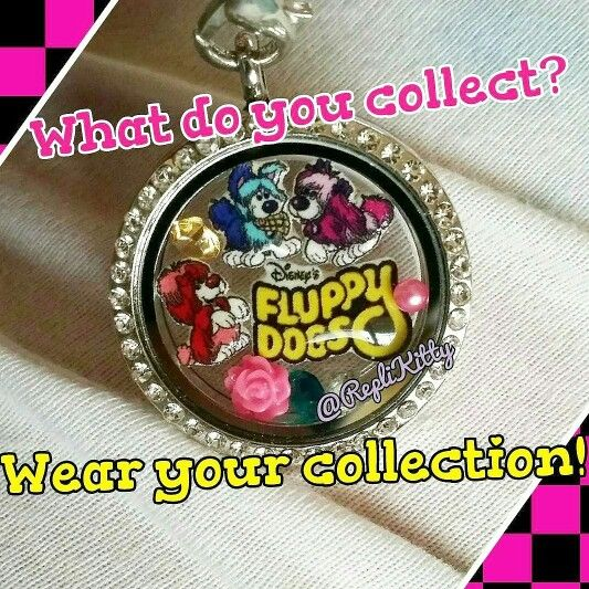Wear your collection! Design your own custom charm set! All are handmade by me and not available anywhere else! Visit my store and request a custom set! Mention this pin and get free crystal charms with your order! www.replikitty.etsy.com #toys #collector #vintagetoys #fluppydogs #80s #90s #valentinesday