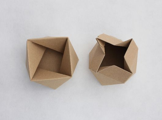 genius - they lock together to form a box