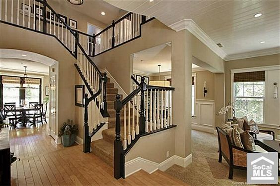Best Stair Banister Staircases And Open Staircase On Pinterest 400 x 300