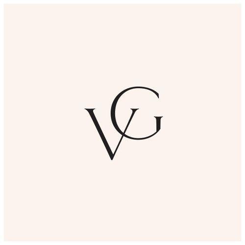 Vg Logo Monogram Mark Brand Design Text Logo Design Letter Logo Design Logo Design
