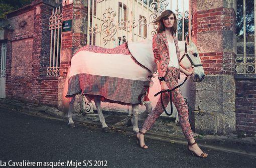 Born to Ride: Moda + Caballos