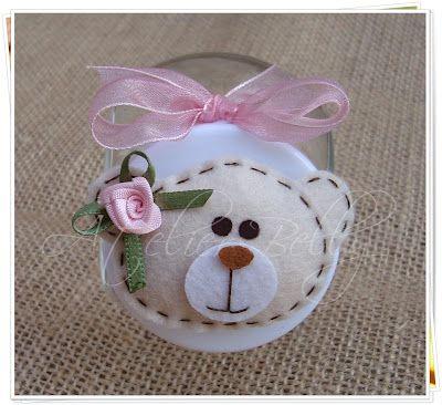 Atelier Belly: Bonequinhas e Ursinhas de feltro (Lembrancinhas de Maternidade, Nascimento, Chá de Bebê...):