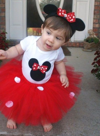 Minnie Mouse @Amanda Finn.  Miss Sophie was Minnie this halloween.  She looked soooo cute!  Thanks Aunt Jelly for your handmade crochet Minnie ears!@Janyel Barrera.  Will post pic of Sophie soon.
