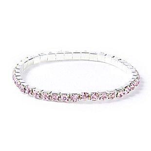 Crystal Gem Stretch Bracelet
