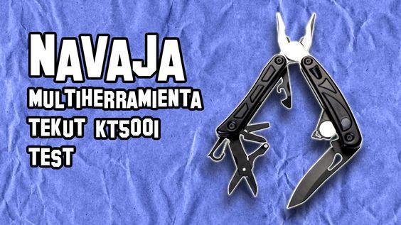 Navaja MultiHerramienta Tekut KT5001 | Armas de Supervivencia