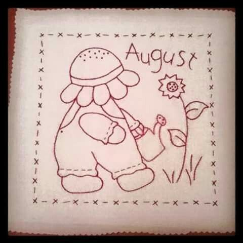 Dibujos patch august