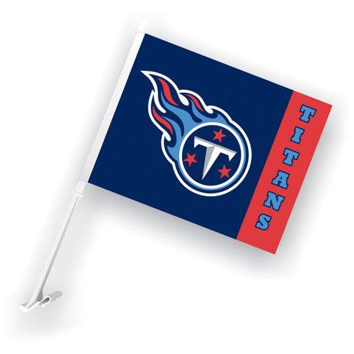 Tennessee Titans NFL Car Flag with Wall Brackett   Car Flags ...