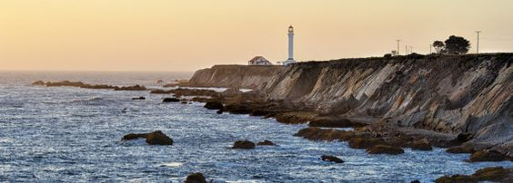 Point Arena Lighthouse California HWY 1 Ocean by LeAnnStamper, $25.00