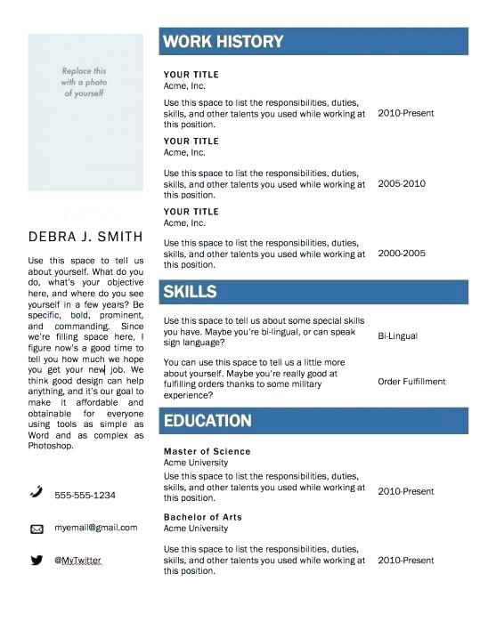 Microsoft Office Resume Template 2007 from i.pinimg.com