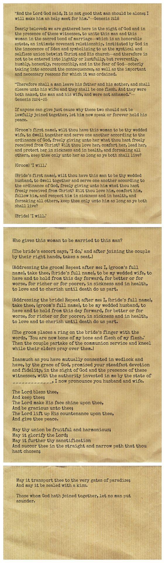 Christian Wedding Ceremony Christian Weddings And Wedding Ceremonies On Pinterest