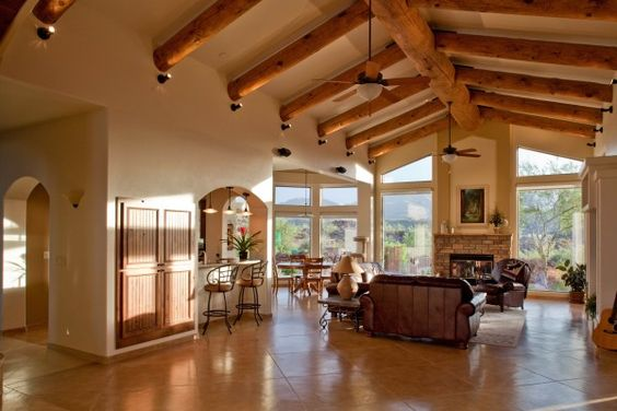 Southwest Style custom home design from Sonoran Design Group. http ...
