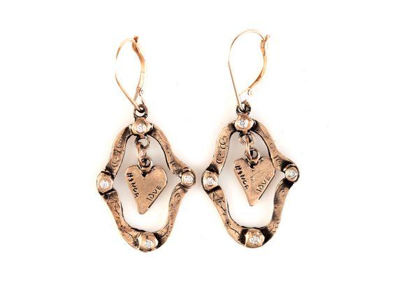 Window to Love Earrings by Jes MaHarry