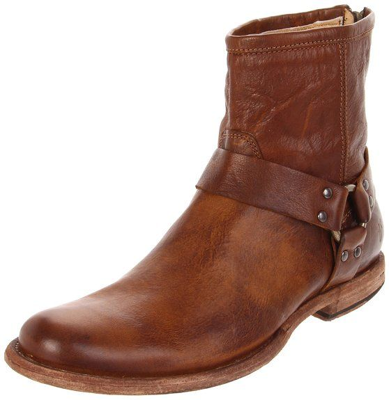 Frye Phillip Harness, Boots homme - Marron (Cog), 43 EU