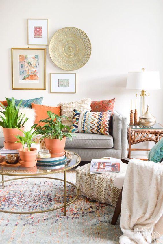 How To Create A Scandinavian Bohemian Living Room The Mood