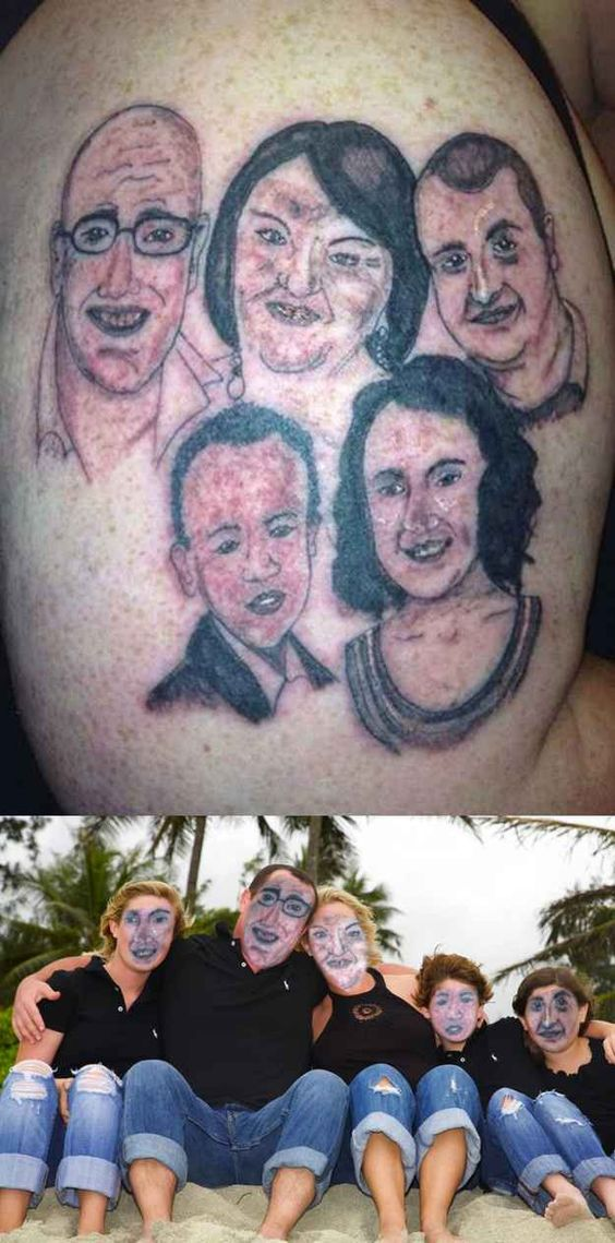 This loving family: | 35 People That Will Make You Feel Better About Your Life Choices