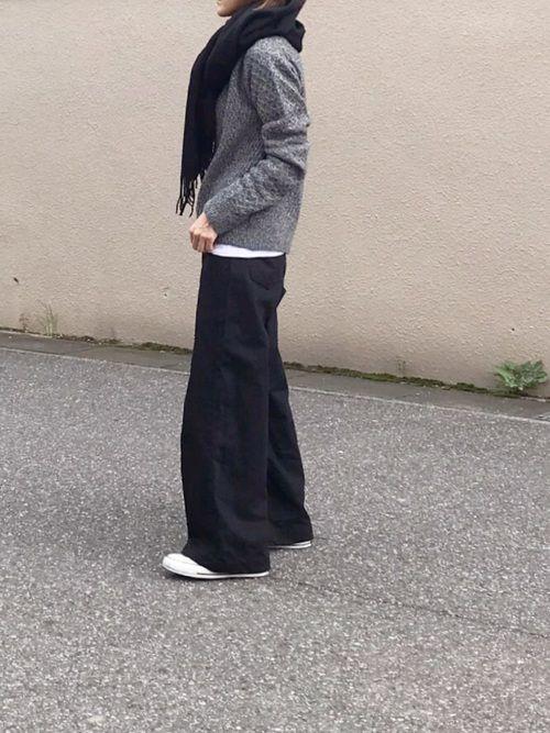 Aya|G.V.G.V.のニット・セーターを使ったコーディネート