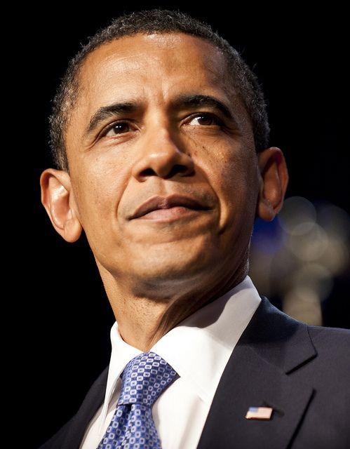 President Barack Obama Campaign Headshot by Barack Obama, via Flickr