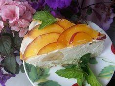 Творожный торт бланманже