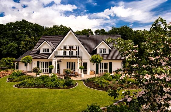Eindrucksvolle Stadtvilla >> Landhaus 14 - Haacke Haus: Stadtvilla, Architektenhaus, Passivhaus, Effizienzhaus, Exklusivhaus
