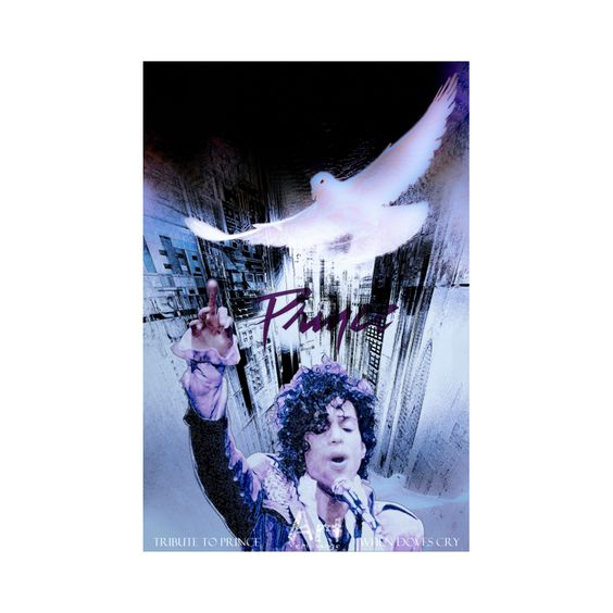 TRIBUTE TO PRINCE - WHEN DOVES CRY