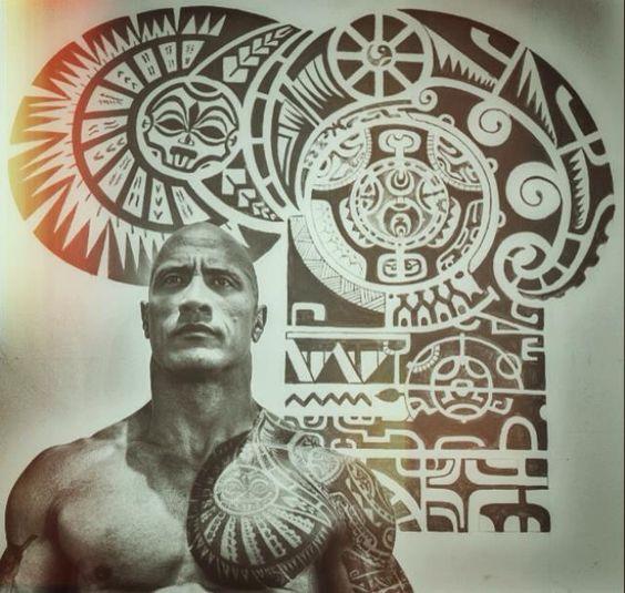 the rock tattoo design tatto pinterest tatuaggio rock il rock e rocce. Black Bedroom Furniture Sets. Home Design Ideas