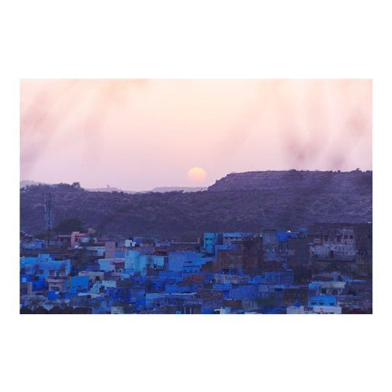 S U N S E T  Jodhpur, India 2013 #ayu #ayuperfumeoils #india #jodhpur