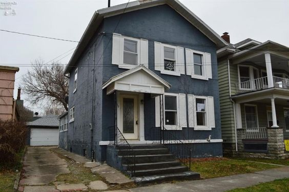 $25,000 4 BR 2 BA home in downtown Sandusky. Interior Features include: some original wood work, large kitchen, first floor laundry, sun room, large bedrooms, 2 fireplaces, basement, some updates and more! Exterior features include: brick exterior, driveway with off street parking, garage and more! Case number: 412-664361 HUD homes are sold AS-IS