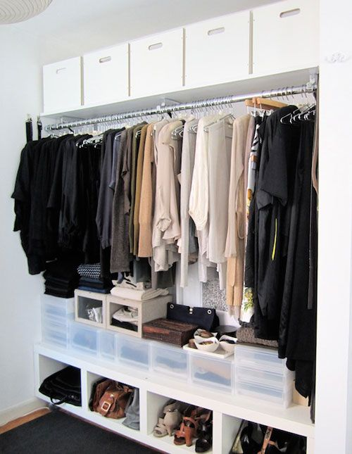 Top Shelf Closet Organizer Minimalist Closet Organization How