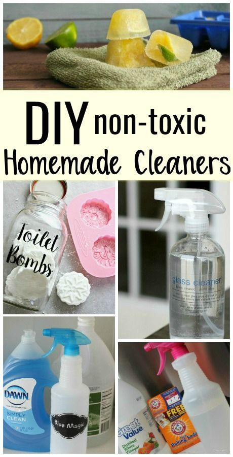 Ditch the store bought cleaners full of chemicals and clean your bathroom with these non-toxic, natural options. You can make your own homemade cleaners to use at home with ingredients you already have at home!