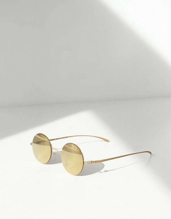 Gold-Colored Lenses. Xk: