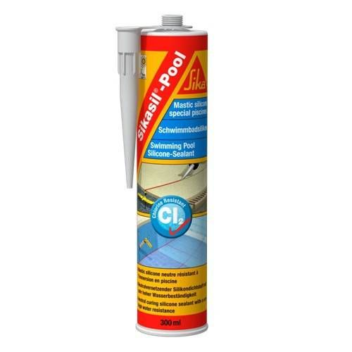 Sikasil Pool Mastic Silicone Neutre Pour Piscines Et Zone Humides En Permanence Sika Zone Humide Humide Piscine