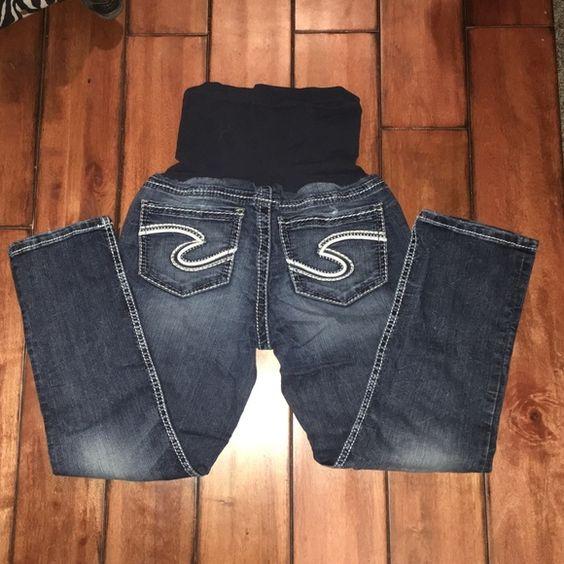 Silver Brand Maternity Jeans | Embarazo, Pantalones vaqueros de ...