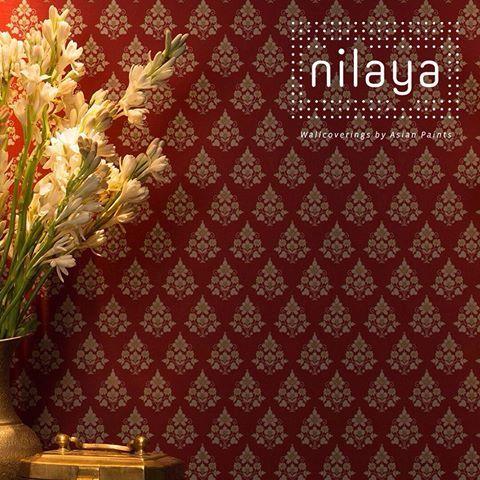 Sabyasachi For Nilaya Available At Aarceewallpapers In Gurgaon And Delhi Asian Paints Wall Designs Wall Paint Designs Asian Paint Design