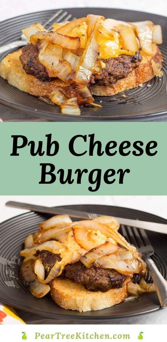 Pub Cheese Burger