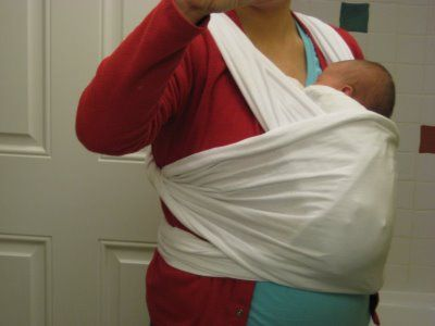 No-Sew Moby Wrap tutorial