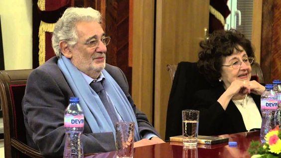 Пласидо Доминго в Софийската опера12.02.2014 - Placido Domingo at the So...