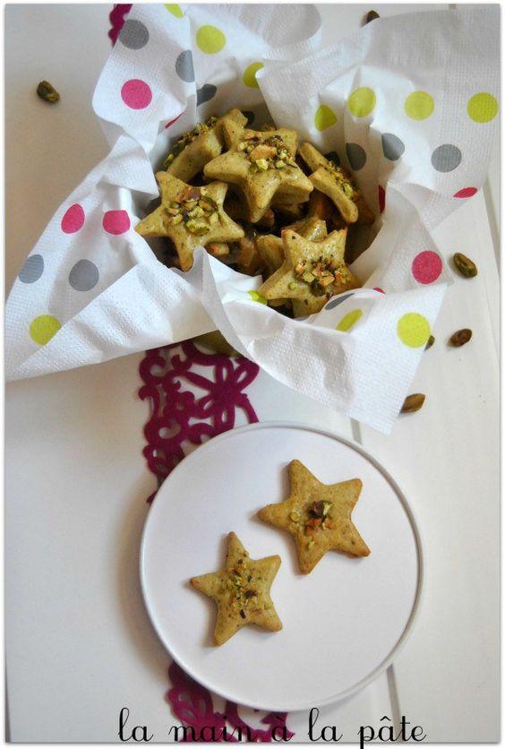 étoiles apéritives aux pistaches