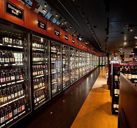 Liquor Store Design Applied Design Knowledge Metamorphous Interiors Ltd In 2020 Wine Store Design Store Design Interior Supermarket Design Interior