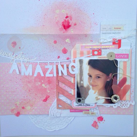 Layout I created for the jot mood board for april