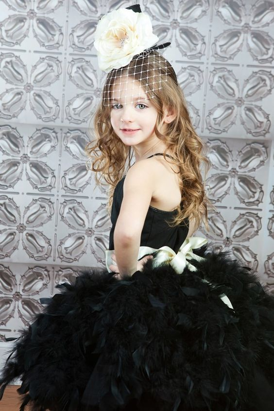Wedding Couture Feathered Skirt by The by TheLittlePeaBoutique, $150.00