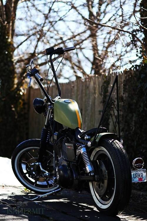 Ape hanger | Motorcycles | Pinterest | The cafe, Boss and ... Bobber Motorcycle With Ape Hangers