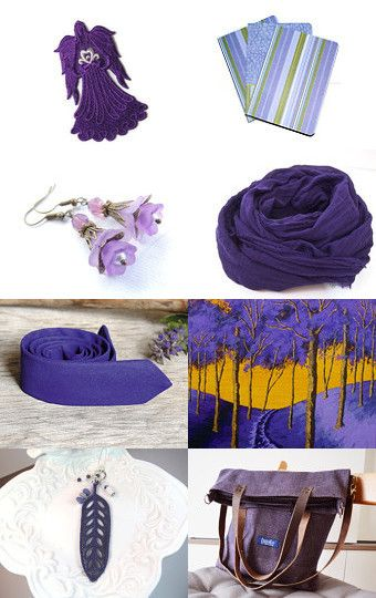 PURPLE PASSION by designstyle on Etsy--Pinned with TreasuryPin.com