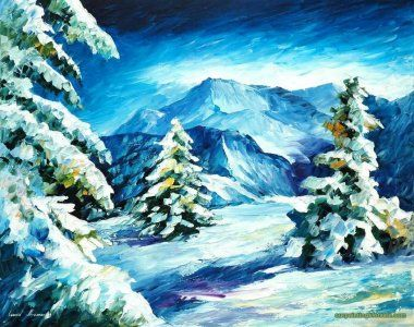 ABOVE AND BEYOND By Leonid Afremov painting sale online